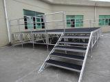 Fabrik-Großverkauf-Aluminiumrahmen-im Freienkonzert-Hochzeits-Ereignis-Stadiums-bewegliches Stadium