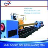 فولاذ بناء [كنك] [ستيل بيب] قطاع جانبيّ عمليّة قطع و [بفلينغ] آلة صاحب مصنع محترفة [كر-إكسف8]