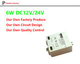 12V 500mA quadratischer 6W LED Fahrer, Gleichstrom-Versorgung, 12V LED Transformator, LED entfernt Energie, 12V LED Streifen, 5W LED Stromversorgung