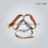 Безопасные Wristbands силикона удостоверения личности дома/медицинский браслет силикона