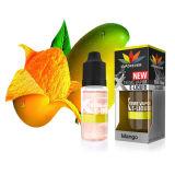 E Jus Perisa Mangga Yang, der Laris Mangofrucht Ejuice Eliquid konkurrierenden erstklassigen Saft des Tabak-E vom China-Lieferanten erbläßt