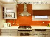 L'éclaboussure de cuisine embarque /Backsplash colorée en verre avec du ce et le SGCC