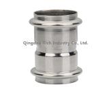 OEMのステンレス鋼の管のカップリングかステンレス鋼の管か造られた鋼鉄付属品または鍛造材または鋼鉄鍛造材の部品またはカップリング袖を投げるステンレス鋼の鍛造材の部分