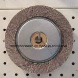 Roda da aleta do óxido de alumínio para o metal