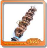 Grand tissage brésilien de cheveux de point culminant