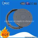 Abwasserkanal-Einsteigeloch-Deckel Soem-D400 Kreis-SMC zusammengesetzter