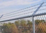 熱い浸されたGalvanziedの一時構築の鋼鉄チェーン・リンクの塀