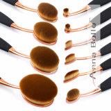 профессиональная косметическая щетка Eyeshadow учредительства комплекта щеток состава 10PCS