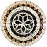 Patrón colorido del mármol del mosaico (DES-F1)