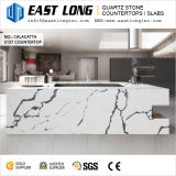 Black Marble Color Artificial Quartz Stone Slabs / Quartz Stone Countertop Solid Surface