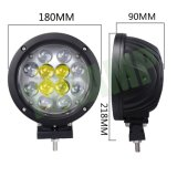 지프를 위한 가벼운 일 램프를 일해 60W 7inch 크리 말 LED
