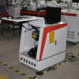 Mini macchina della marcatura del metallo del laser della fibra con la calotta di protezione