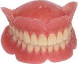 歯科取り外し可能なアクリルの総義歯