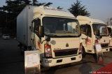 4X2 HOWO Sinotruk petit réfrigérateur Van chariot pour les ventes