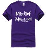 Le circuit de mode de qualité supérieur d'OEM gaine le T-shirt d'impression de mots
