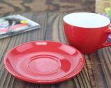 150ml personalizzano la tazza di ceramica di Latte della tazza di caffè di colore
