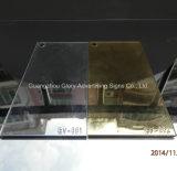 Folha acrílica do espelho da prata plástica do molde dos produtos