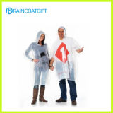 Preiswertes PET wegwerfbare Regenkleidung Rpe-045A