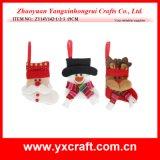 Decoração de Natal (ZY14Y142-1-2-3) Festival de Natal Artesanato peças de ornamentos de Natal