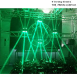 9X12W 무한한 환영 광속 빛 LED 이동하는 맨 위 스포트라이트