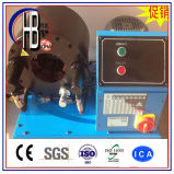Schlauch-quetschverbindenmaschine mit schnellem Änderungs-Hilfsmittel