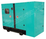 gerador 50kVA Diesel Soundproof com motor 1003tg de Lovol para projetos de edifício