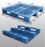 HDPE de Plastic Pallet van de Opslag van het Pakhuis voor het Rekken