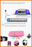 Электронный гибкий складывая рояль с ключами мягкой клавиатуры 88 кремния