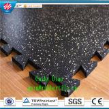 La pavimentazione di gomma di pavimentazione di gomma di collegamento di /Gym di ginnastica/pavimentazione di gomma antiscorrimento mette in mostra la pavimentazione di gomma