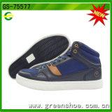 Pattini casuali di comodità delle calzature di modo di svago dell'alto taglio per gli uomini