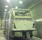 Grand cadre/traitement au four de peinture de bus au-dessus de cabine de jet