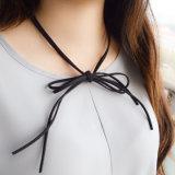 3 doppia collana Chain di cuoio del Choker di colori DIY