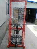 empilhador manual hidráulico do empilhador da mão de 1000kg 1500kg 2000kg