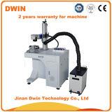 Fibra de desktop 20W Laser Color Marcação da Máquina para preço de Metal
