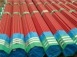 En 10255 S195 T a soudé la pipe en acier peinte de couleur rouge de Ral 3000
