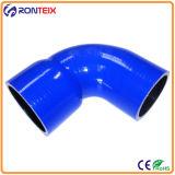 Tuyau bleu de silicone de performance