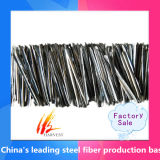 高力溶解によって得られるステンレス製のまっすぐな鋼鉄ファイバー