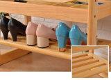 Support de chaussure en pieds massif en bois (M-X2082)