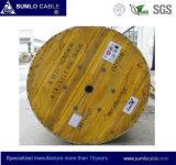 2-144 Cores G652. D GYTA / Gysta Fiber Optic Cable, tubo solto, Força metálica, preto PE Jacket for Duct or Aerial