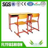 Bureau de double de mobilier scolaire réglé pour la vente en gros (SF-19D)