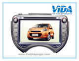 Car DVD Two DIN para Nissan March con GPS / Bt / iPod