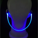 2017 flash de lumière à LED avec casque Bluetooth sans fil 120mAh Batterie Hot Sale