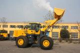 Lader van uitstekende kwaliteit van het Wiel van de Controle van China 6ton de Proef met het Blad van de Sneeuw