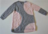 Детей с узорами вязки Pullover круглой горловины свитер