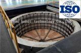 Fornace personalizzata di calore del giogo 180kw con la vaschetta elettrica del coperchio della fornace