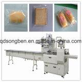 Biscoito automática de alta velocidade e alimentação de arrumação e máquina de embalagem
