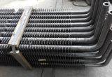 Tubo de aleta del ahorrador, tubo de aleta del acero de carbón, tubo de aleta del acero inoxidable