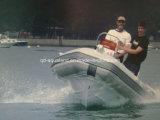 Barco de pesca inflable del barco/de la fibra de vidrio de Aqualand 16feet 4.7m/Rigid (RIB470A)