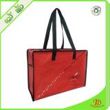 Vordere Pocket Einkaufstasche des Reißverschluss-RPET
