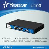 Yeastar FXS/FXO/GSM/Bri/UMTS Ports il sistema di telefono facoltativo di linea di accesso al centralino privato di VoIP del modulo